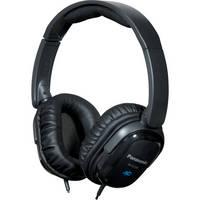 Panasonic RP-HC200 Noise Canceling Around-Ear Stereo Headphones (Black)