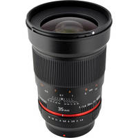 Rokinon 35mm f/1.4 AS UMC Lens for Samsung NX Mount
