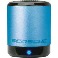 Scosche boomCAN Portable Media Speaker (Blue)