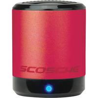 Scosche boomCAN Portable Media Speaker (Red)
