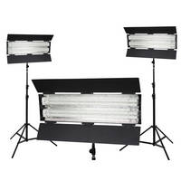 Flolight KIT-FL-110HM3 3-Point Lighting Kit - 5400K (110-240VAC)