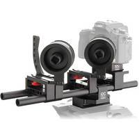 iDC Photo Video System One Follow-Focus Kit for Panasonic GH2 (2 Wheels/Lens Brace)