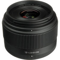 Sigma 19mm f/2.8 EX DN Lens for Olympus/ Panasonic Micro 4/3 Cameras