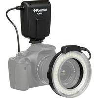 Polaroid Macro LED Ring Flash for Nikon