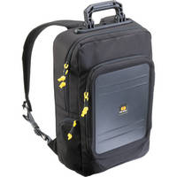 Pelican U145 Urban Lite Tablet Backpack (Black with Yellow Zipper Pulls)