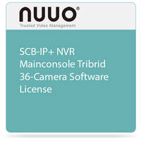 NUUO SCB-IP+ NVR Mainconsole Tribrid 36-Camera Software License