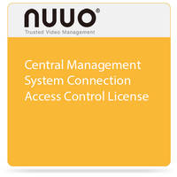 NUUO Central Management System Connection Access Control License