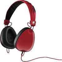 Skullcandy Aviators Over-Ear Headphones (Red and Black)