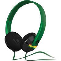 Skullcandy Uprock On-Ear Headphone (Black and Rasta)