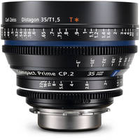 Zeiss Compact Prime CP.2 35mm/T1.5 Super Speed EF Mount with Imperial Markings