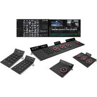 Blackmagic Design DaVinci Resolve with Tangent Devices Element Panels Kit