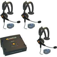 Eartec ComPAK Com-Center and Ultralite CS Headset System (3 Piece)