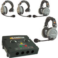 Eartec COMSTAR Flex Max Series 4-User Full Duplex Intercom System