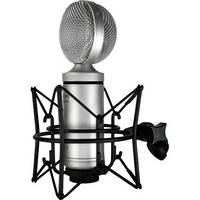 Cascade Microphones FAT HEAD II Active/Passive Ribbon Microphone (Silver)