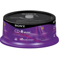 Sony CD-R Music Recordable Storage (30 Discs)