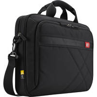 "Case Logic 15.6"" Laptop and Tablet Case (Black/Red Accents)"