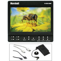 "Marshall Electronics 5"" On-Camera Monitor with Battery Adapter and HDMI Cables Kit"