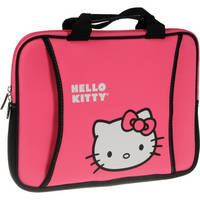 "Hello Kitty Neoprene Mini Case for Notebook with Screen up to 12"" (Pink)"