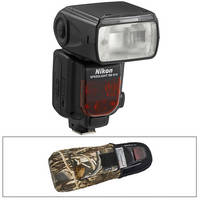 Nikon SB-910 AF Speedlight i-TTL Shoe Mount Flash with FlashKeeper Kit