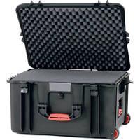 HPRC 2730WFB Wheeled Hard Case with Cubed Foam (Black)