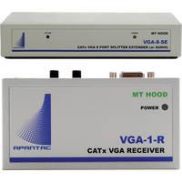 Apantac VGA-8-SE VGA Extender/Splitter with Audio & Monitor Output (8 Port)