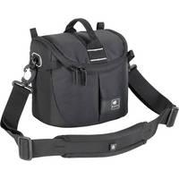 Kata Lite-437 DL Shoulder Bag for a DSLR with Standard Zoom in Shooting Position or Handycam (Black)
