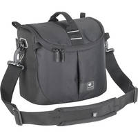 Kata Lite-441 DL Shoulder Bag for a Pro DSLR with Zoom in Shooting Position or Camcorder (Black)
