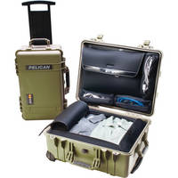 Pelican 1560LOC Laptop Overnight Case (Green)