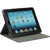 Xuma Folio Case with Magnetic Cover for iPad 2nd, 3rd, 4th Gen (Black)