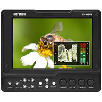"""Marshall Electronics V-LCD56MD 5.6"""" HDMI Monitor with 3G SDI Output Module"""