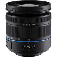 Samsung 18-55mm f/3.5-5.6 OIS Compact Zoom Lens (Black)