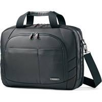 """Samsonite Xenon 2 Two Gusset Toploader Shoulder Bag with 15.6"""" Laptop Pocket (Black)"""