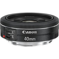 Canon 40mm f/2.8 STM lens