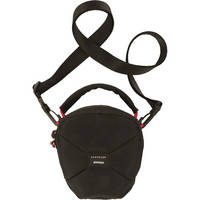 Crumpler Pleasure Dome Shoulder Bag (Small, Black/Black )