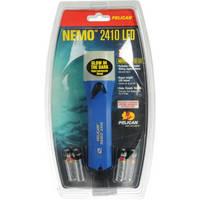 Pelican Nemo StealthLite 2410 LED Photoluminescent Flashlight (Blue)