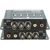 Shinybow SB-2819 1 x 1 Component Video and Audio Booster (BNC)