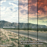 """LEE Filters 4x6"""" Graduated Sunset 3 Resin Filter"""