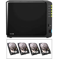 Synology 16 TB (4x4TB) Diskstation DS412+ 4-Bay All-in-1 NAS Server (B&H Kit)