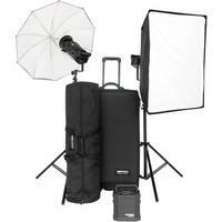 Bowens Gemini Classic 500C 2 Light Umbrella/Softbox/Travel Pack Kit (120V)