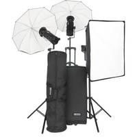 Bowens Gemini 500Pro 3 Light Kit with Pulsar Tx/Rx Radio Remote (90-250V)