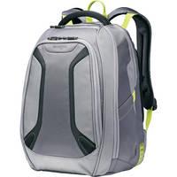 "Samsonite Viz Air Backpack with 15.6"" Laptop Pocket (Gunmetal/Volt Green)"