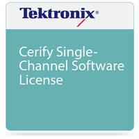Tektronix Cerify Single-Channel Software License