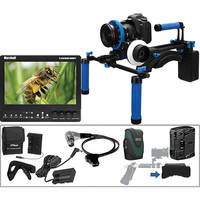 Redrock Micro Complete DSLR Rig With microFollowFocus, Batteries, Monitor for Canon