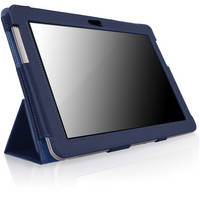 CaseCrown Bold Trifold for Galaxy Tab 2 10.1 (Blue)