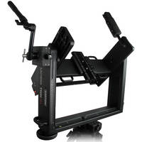 Cartoni Lambda Twin 3D Rig with 5 lb Weight