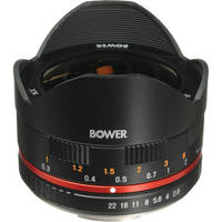Bower 8mm f/2.8 Ultra Compact Fisheye Lens for Samsung NX Mount