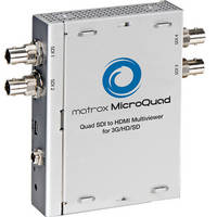 Matrox MicroQuad SDI to HDMI Multiviewer for 3G / HD / SD Feeds