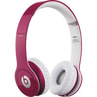 Beats by Dr. Dre Solo HD - On-Ear Headphones (Bubble Gum Pink) with Mic/Remote Control on Cable