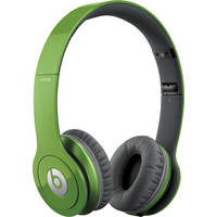 Beats by Dr. Dre Solo HD - On-Ear Headphones (Sour Apple) with Mic/Remote Control on Cable