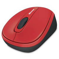 Microsoft Wireless Mobile Mouse 3500 (Red)